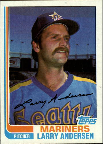 Photo of 1982 Topps #52 Larry Andersen