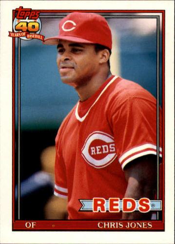 Photo of 1991 Topps Traded #65T Chris Jones RC