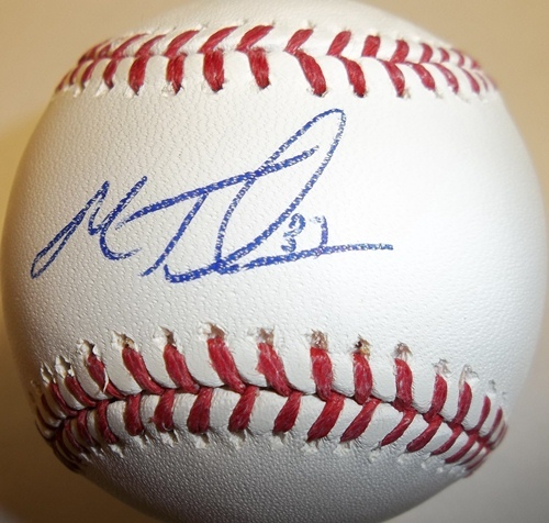 Photo of Matt Thornton Autographed Baseball