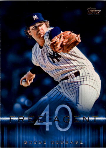 Photo of 2015 Topps Free Agent 40 #F405 Goose Gossage