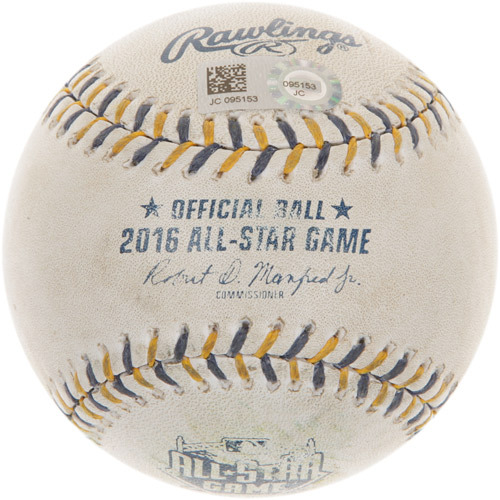 2016 All-Star Game: Batter - Wil Myers, Pitcher - Jose Quintana, Top of 5th, Double