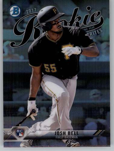 Photo of 2017 Bowman Chrome Rookie of the Year Favorites #ROYF12 Josh Bell