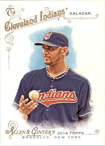 Photo of 2014 Topps Allen and Ginter #222 Danny Salazar