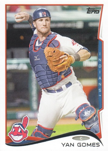 Photo of 2014 Topps #620 Yan Gomes