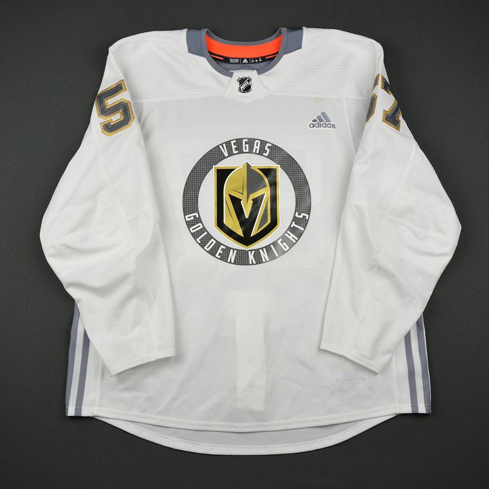 David Perron Warmup Worn/Autographed Practice Jersey - Vegas Golden Knights