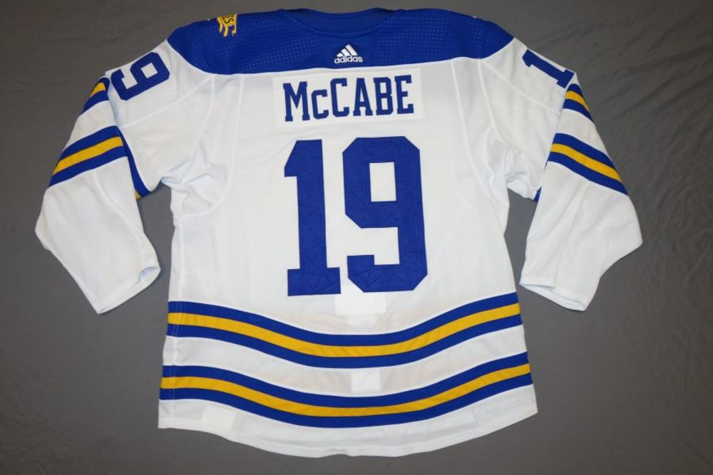 Jake McCabe Buffalo Sabres 2018 Winter Classic Game-Worn Jersey