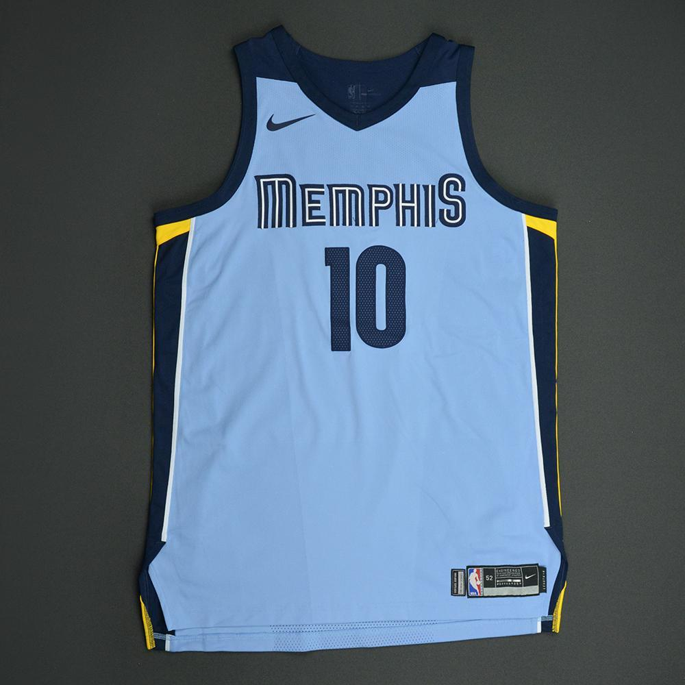 Ivan Rabb - Memphis Grizzlies - Statement Game-Worn Jersey  - 2017-18 Season