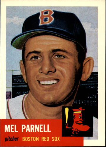 Photo of 1991 Topps Archives 1953 #19 Mel Parnell