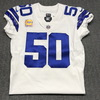 Crucial Catch - Cowboys Sean Lee signed and game issued Cowboys jersey w/ Captains Patch (October 8, 2017) Size 44