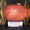 HOF - Raiders Art Shell Signed Authentic Football