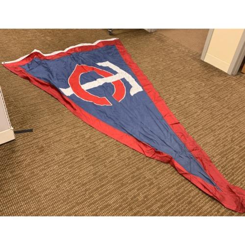 Photo of Minnesota Twins Stadium Flag - Minnesota Twins Pennant