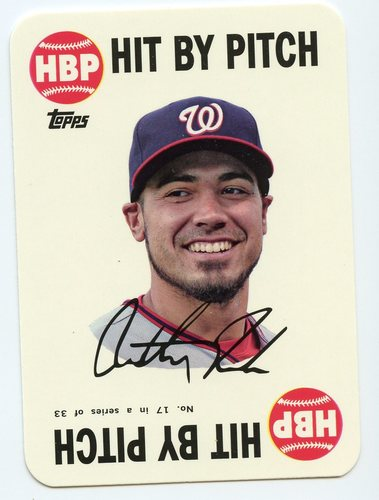Photo of 2015 Topps Archives '68 Topps Game Inserts #17 Anthony Rendon