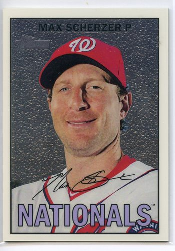 Photo of 2016 Topps Heritage Chrome #THC459 Max Scherzer