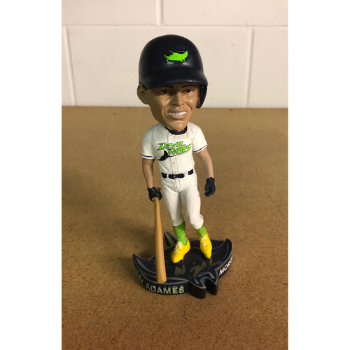 Photo of Autographed Willy Adames Bobblehead (Not Authenticated by MLB)