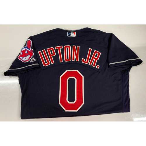 Photo of Melvin Upton Jr. Team Issued Alternate Road Jersey