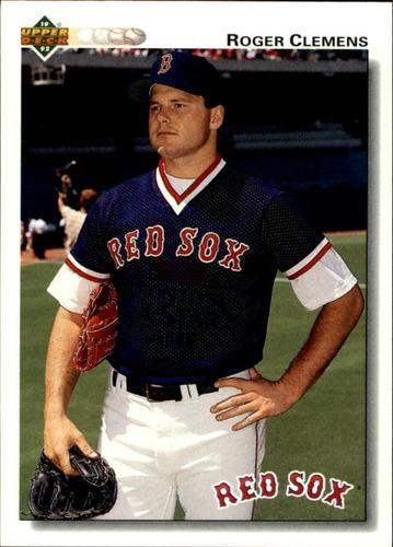 Photo of 1992 Upper Deck #545 Roger Clemens