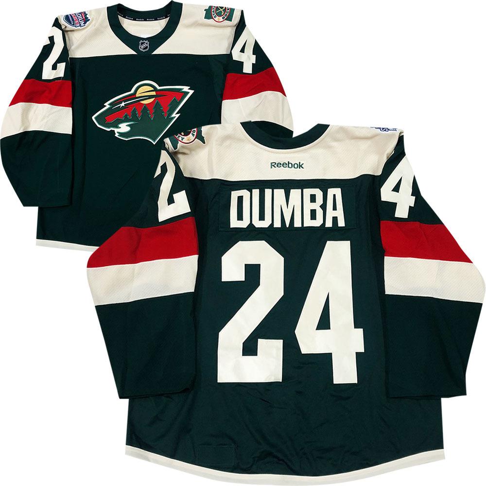 Matt Dumba Minnesota Wild 2016 NHL