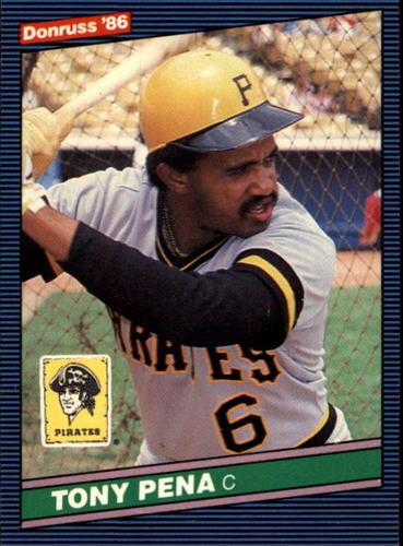 Photo of 1986 Donruss #64 Tony Pena