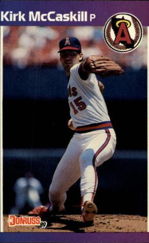 Photo of 1989 Donruss #136 Kirk McCaskill