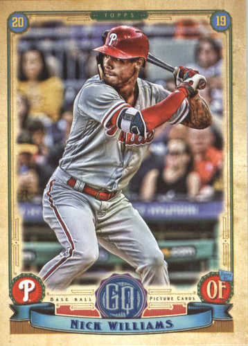 Photo of 2019 Topps Gypsy Queen #70 Nick Williams