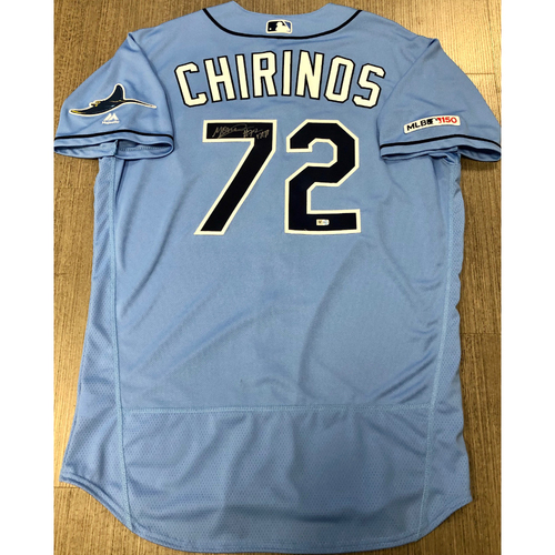 Photo of Autographed Jersey: Yonny Chirinos