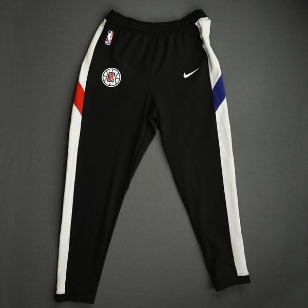 Image of Ivica Zubac - Los Angeles Clippers - Game-Issued Earned Edition Game Theater Pants - 2019-20 NBA Season