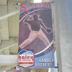 Photo of Xander Bogaerts Concourse Banner