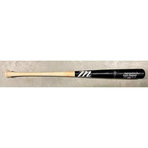 Photo of Game Used Broken Bat: Austin Meadows - April 3, 2021 at MIA