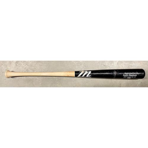 Photo of Game Used Broken Bat: Austin Meadows - April 3, 2021 at MIA