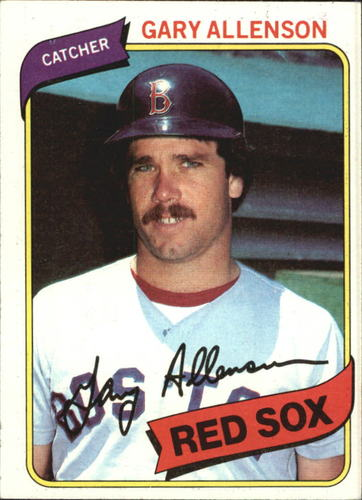 Photo of 1980 Topps #376 Gary Allenson RC