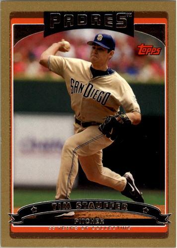 Photo of 2006 Topps Gold #534 Tim Stauffer