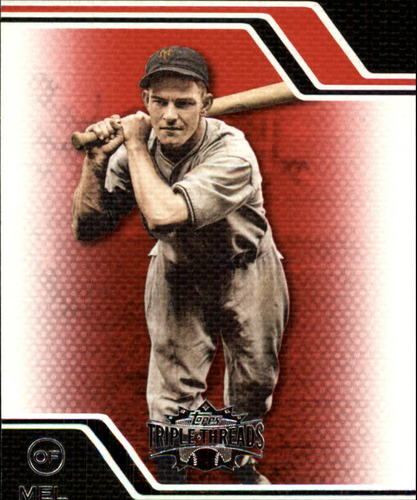 Photo of 2008 Topps Triple Threads #231 Mel Ott