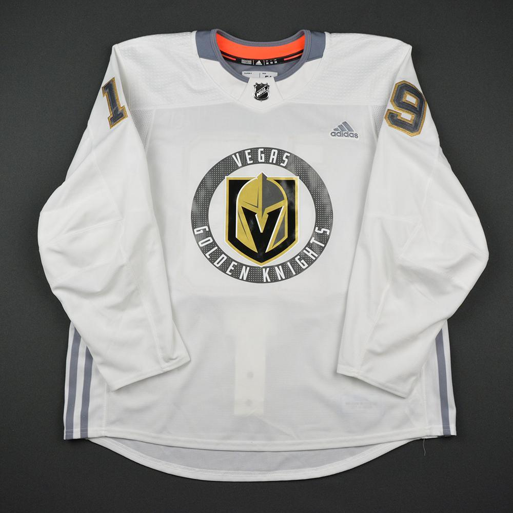 Reilly Smith Warmup Worn/Autographed Practice Jersey - Vegas Golden Knights