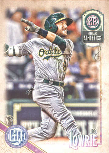 Photo of 2018 Topps Gypsy Queen #101 Jed Lowrie