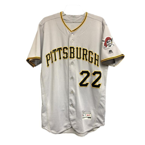 Photo of 2016 Andrew McCutchen Game-Used Away Jersey