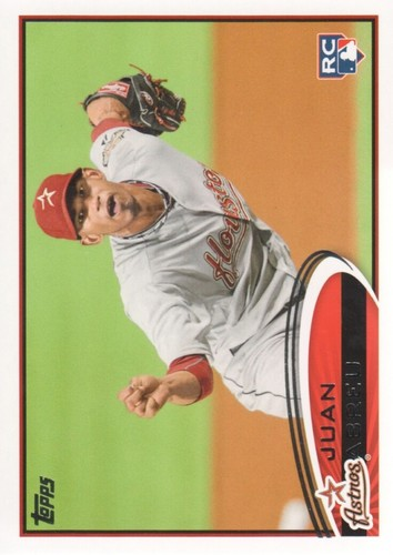 Photo of 2012 Topps #604 Juan Abreu RC