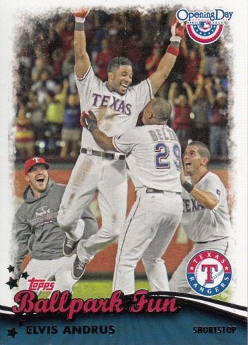 Photo of 2013 Topps Opening Day Ballpark Fun #BF16 Elvis Andrus