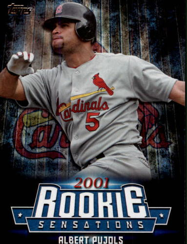 Photo of 2015 Topps Update Rookie Sensations #RS21 Albert Pujols