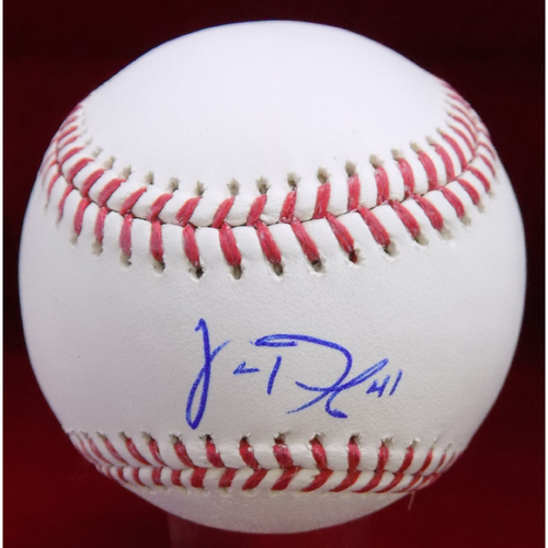 Photo of Jake Diekman Autographed Baseball
