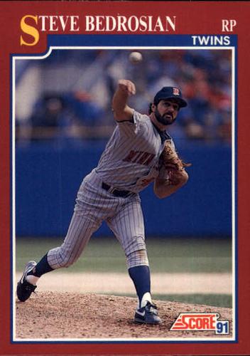 Photo of 1991 Score Rookie/Traded #14T Steve Bedrosian