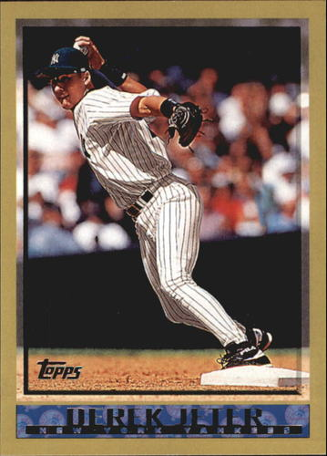 Photo of 2010 Topps Cards Your Mom Threw Out #CMT105 Derek Jeter
