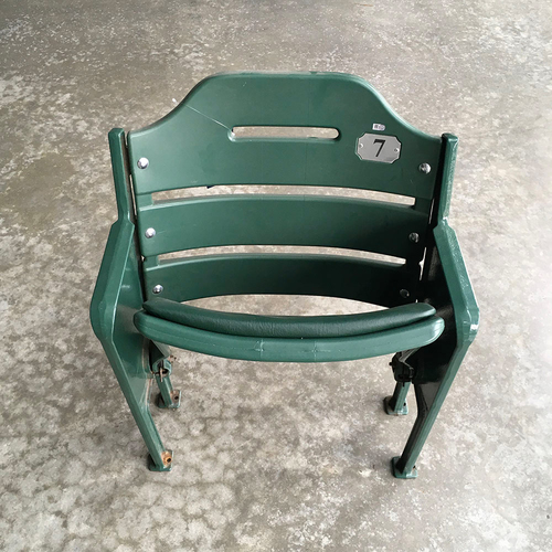 Photo of Team-Issued Miller Park Seat #7 (LOCAL PICKUP ONLY)