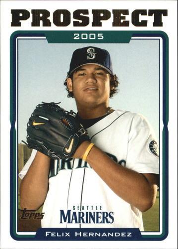 Photo of 2005 Topps Update #110 Felix Hernandez PROS