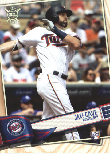 Photo of 2019 Topps Big League #9 Jake Cave RC
