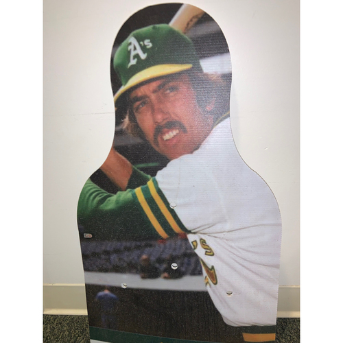 Photo of Oakland A's Community Fund: Ray Fosse Coliseum Cutout