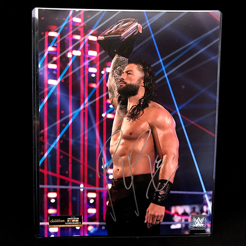 Photo of Roman Reigns SIGNED 11x14 (Random Number)