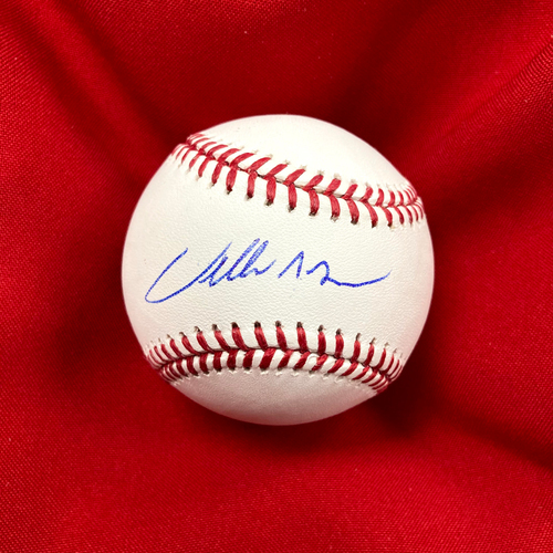 Photo of Willie McGee Autographed Baseball
