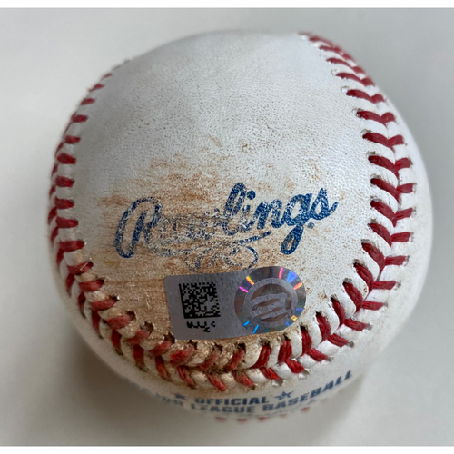 Photo of Game-Used Baseball: Willi Castro Detroit Tigers Single (MLB AUTHENTICATED)
