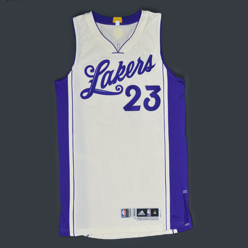 Lou Williams - Los Angeles Lakers - Game-Worn Jersey - NBA ...