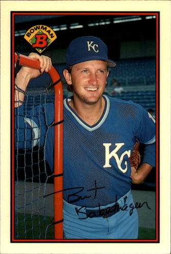 Photo of 1989 Bowman Tiffany #111 Bret Saberhagen
